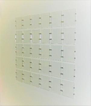 Acrylic window and brochure displays