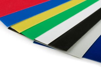 Coloured acrylic options