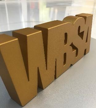 Lasercut acrylic letters